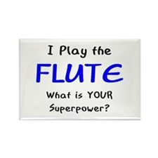play flute Rectangle Magnet