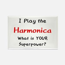 play harmonica Rectangle Magnet