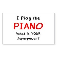play piano Decal