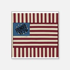 Stars and Stripes 1776 USA Flag design Sticker