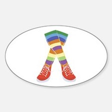 Colorful Socks Decal