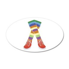Colorful Socks Wall Decal