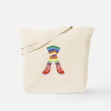 Colorful Socks Tote Bag