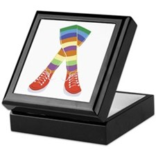 Colorful Socks Keepsake Box