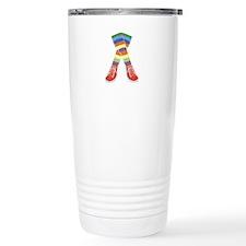 Colorful Socks Travel Mug