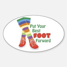 Put Your Best Foot Forward Decal