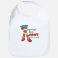 Put Your Best Foot Forward Bib
