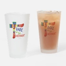 Dare To Be Different Drinking Glass