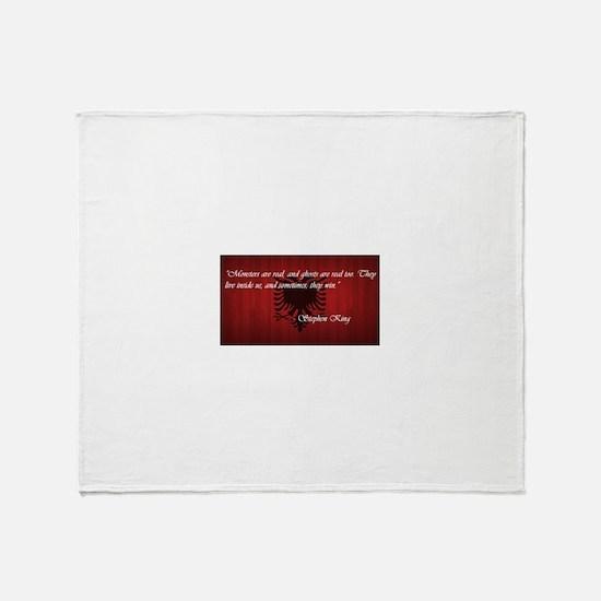 Stephen King Pride Throw Blanket
