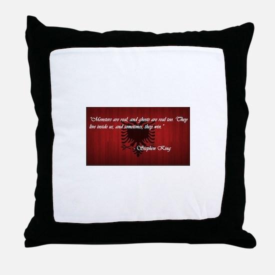 Stephen King Pride Throw Pillow