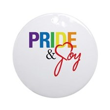 Pride & Joy Round Ornament