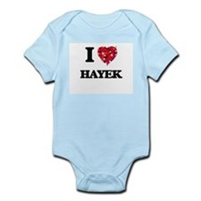 I Love Hayek Body Suit