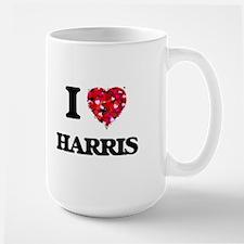 I Love Harris Mugs