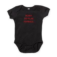 pinball joke Baby Bodysuit