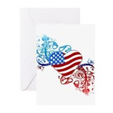 4th of july fireworks Greeting Cards (20 Pack)