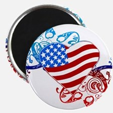 4th of July Fourth American Flag Magnets