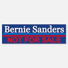 Bernie Not For Sale Bumper Bumper Bumper Sticker