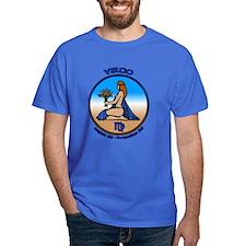 Virgo Art T-Shirt Astrology T-shirts Gifts