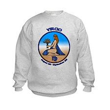 Virgo Sweatshirt Astrology Kid's Sweatshirt