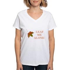 LEAF ME ALONE Shirt