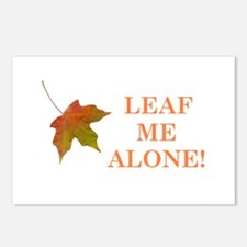 LEAF ME ALONE Postcards (Package of 8)