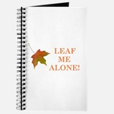 LEAF ME ALONE Journal