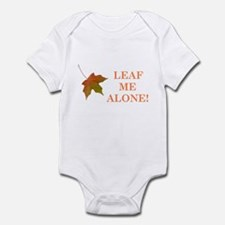 LEAF ME ALONE Infant Bodysuit