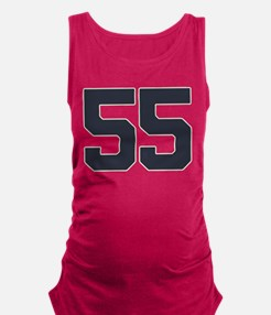 55 55th Birthday 55 Years Old Maternity Tank Top