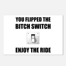 Bitch Switch Postcards (Package of 8)