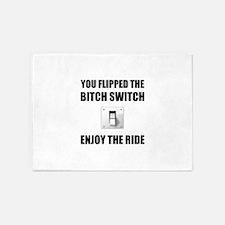Bitch Switch 5'x7'Area Rug