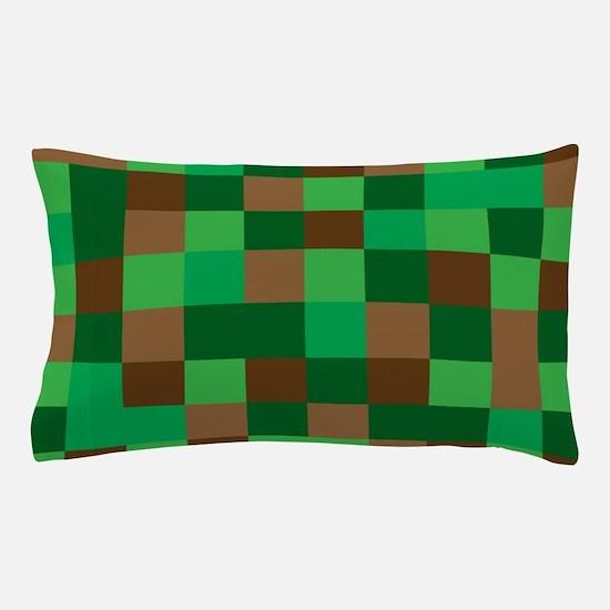 Pixel bedding cafepress - Green pixel bedding ...