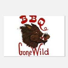 BBQ Gone Wild Postcards (Package of 8)