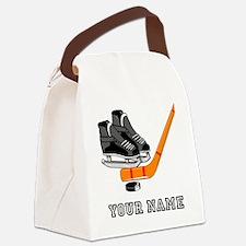 Hockey Equipment (Custom) Canvas Lunch Bag