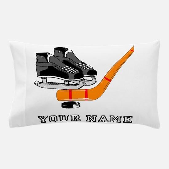 Hockey Equipment (Custom) Pillow Case