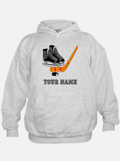 Hockey Equipment (Custom) Hoodie