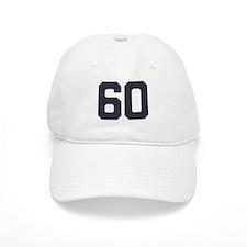 60 60th Birthday 60 Years Old Baseball Cap