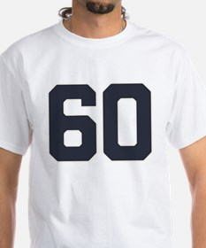 60 60th Birthday 60 Years Old Shirt