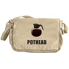 Coffee Pothead Messenger Bag