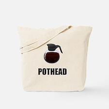 Coffee Pothead Tote Bag