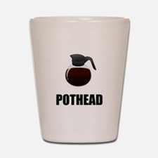 Coffee Pothead Shot Glass