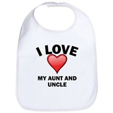 I Love My Aunt And Uncle Bib