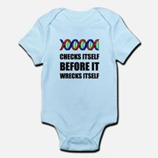 DNA Checks Wrecks Body Suit