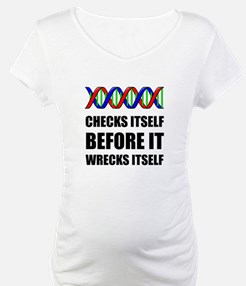 DNA Checks Wrecks Shirt
