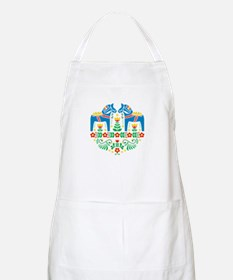 Swedish Dala Horse Apron