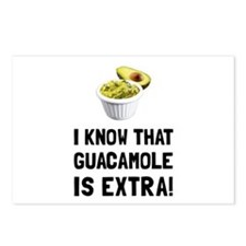 Guacamole Is Extra Postcards (Package of 8)