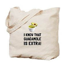 Guacamole Is Extra Tote Bag