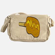 Corndog Messenger Bag