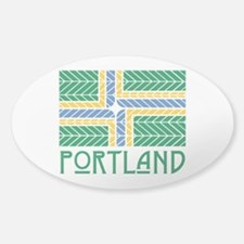 Chevron Portland Decal