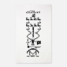 Arecibo Binary Message 1974 Area Rug