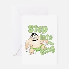 Step Into The Ring Greeting Cards